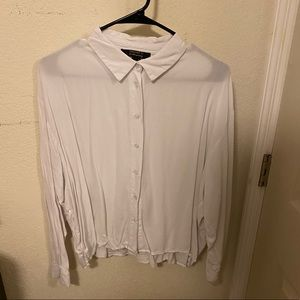 Forever21 button-up blouse shirt